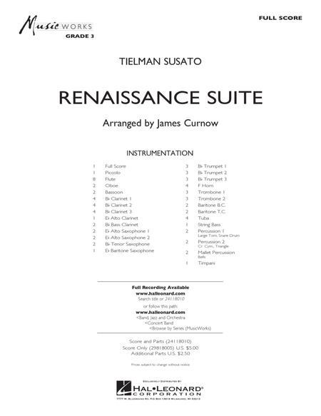 Renaissance Suite - Full Score