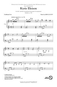 Kyrie Eleison (from Petite Mass)