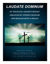 Laudate Dominum (for Brass Quartet - Organ Accompaniment)