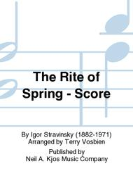 igor stravinskys rite of spring is scored for