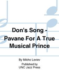 Don's Song - Pavane For A True Musical Prince