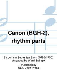 Canon (BGH-2), rhythm parts
