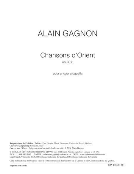 Chansons d'Orient