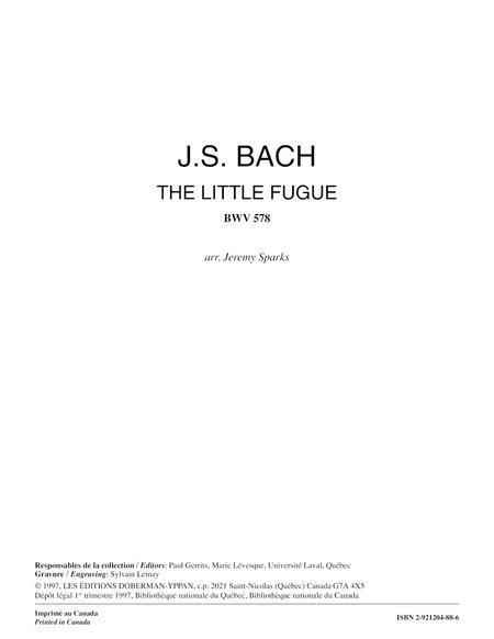 The Little Fugue BWV 578