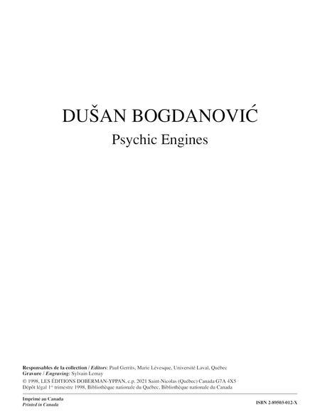 Psychic Engines