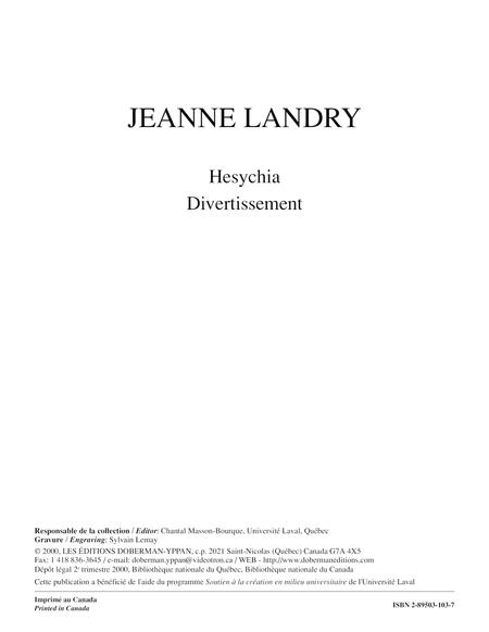 Hesychia Divertissement