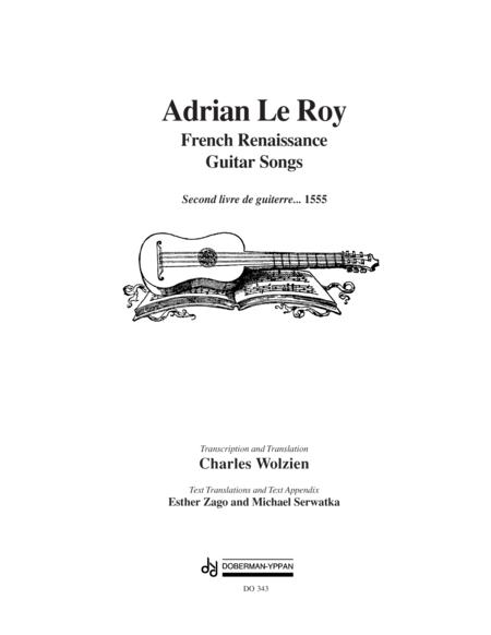 French Renaissance Guitar Songs