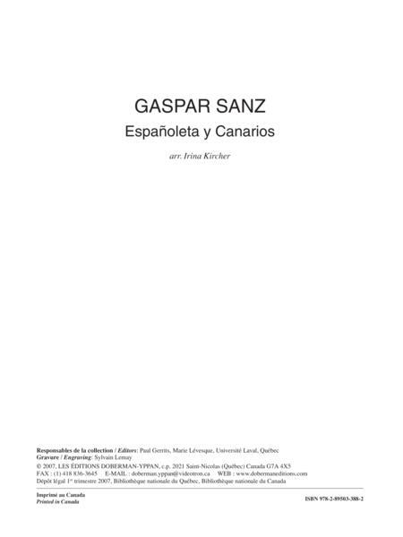 Espanoleta y Canarios