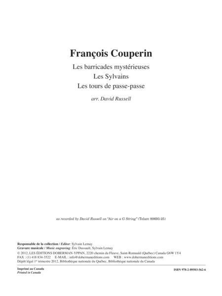 Les barricades mysterieuses, Les Sylvains, Les Tours de Passe-passe