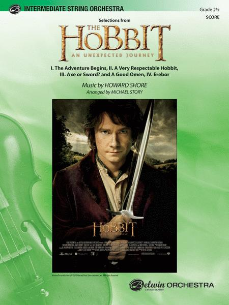 The Hobbit: An Unexpected Journey, Selections from