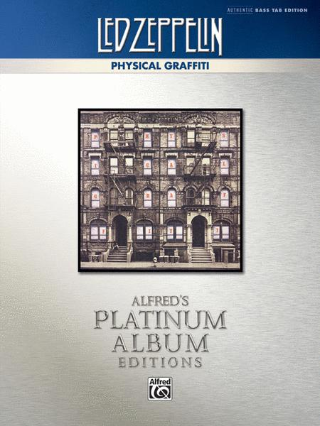 Led Zeppelin -- Physical Graffiti Platinum Bass Guitar