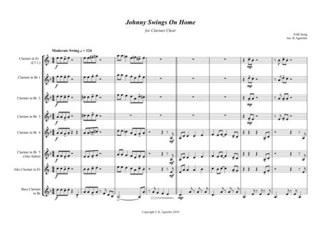 Johnny Swings On Home - for Clarinet Choir
