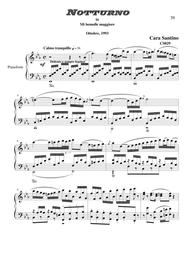 Nocturne in E flat major for piano