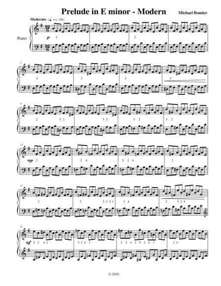 Prelude No. 10 in E minor from 24 Preludes