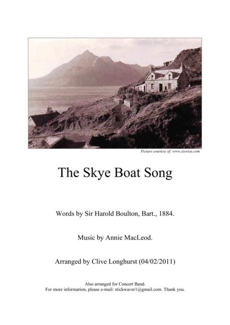 The Skye Boat Song (Brass Band Parts - Full Set)
