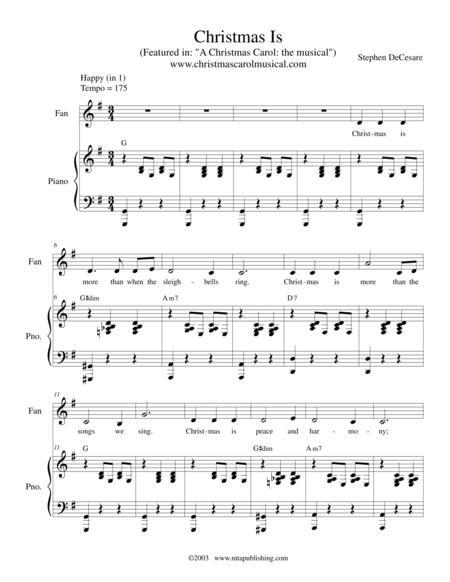 Christmas Carol Musical Script.Download A Christmas Carol The Musical Piano Vocal