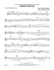 Download Moon River - Bb Clarinet/Trumpet Solo Sheet Music