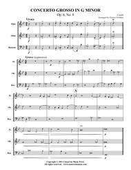 Concerto Grosso in G Minor