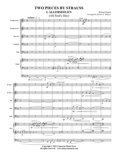 Two Pieces by Strauss
