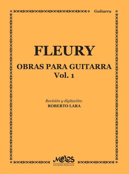Obras Para Guitarra - Volumen 1