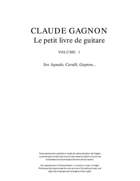 Le petit livre de guitare, vol. 1