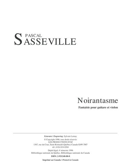 Noirantasme - Fantaisie pour guitare et violon