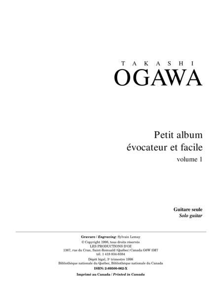 Petit album evocateur et facile, vol. 1