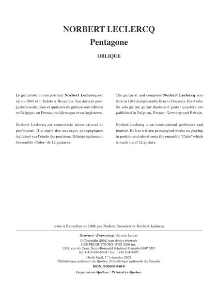 Pentagone - Oblique