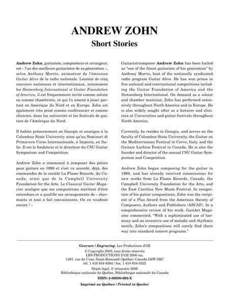 Short Stories (2 livres)