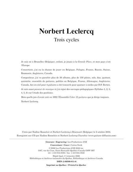 Trois cycles