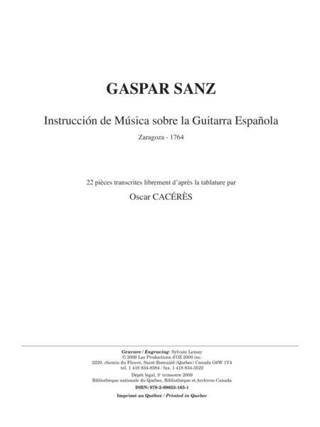 Instruccion de Musica sobre la Guitarra Espanola