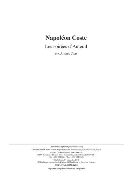 Les soirees d'Auteuil, opus 23