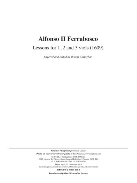 Lessons for 1, 2 and viols (1609)