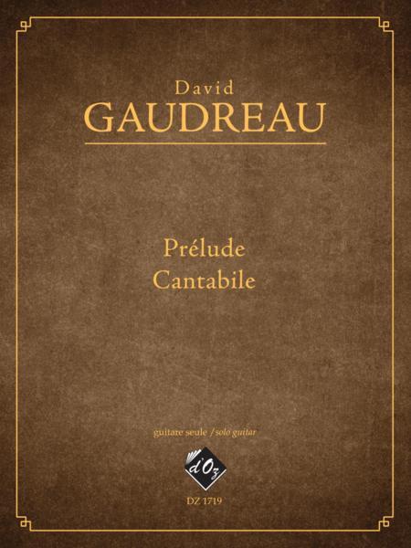 Prelude, Cantabile