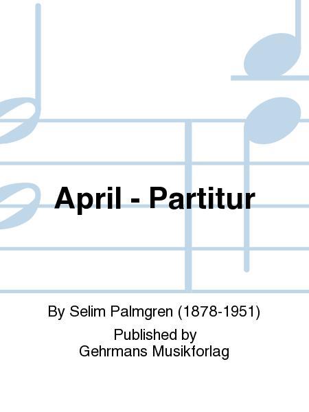 April - Partitur
