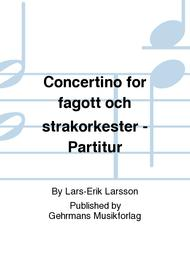 Concertino for fagott och strakorkester - Partitur