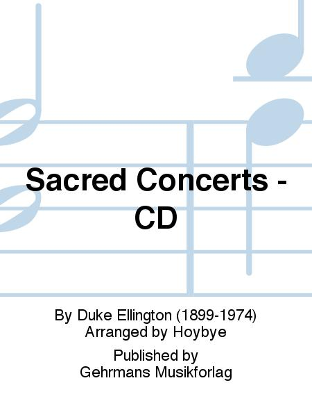Sacred Concerts - CD