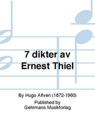 7 dikter av Ernest Thiel