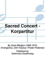 Sacred Concert - Korpartitur