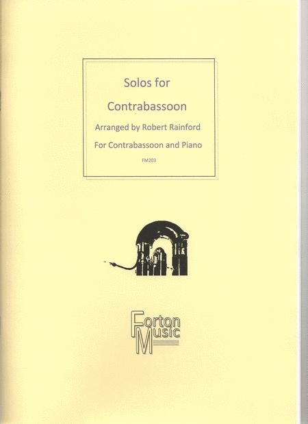 Solos for Contrabassoon