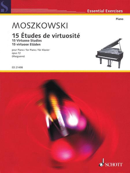 15 Virtuoso Studies op. 72