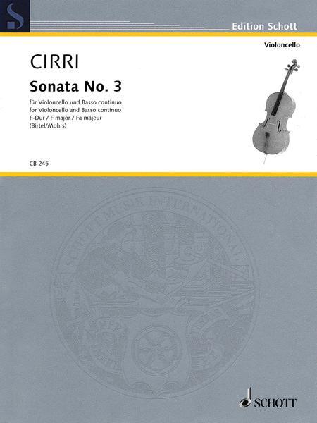 Sonata No. 3 in F Major