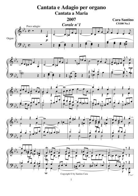 Cantata and Adagio for organ - 100