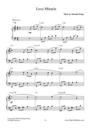 Love Miracle - Wedding Piano Music