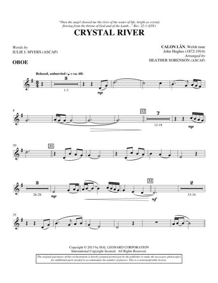 Crystal River - Oboe
