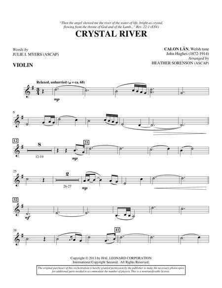 Crystal River - Violin