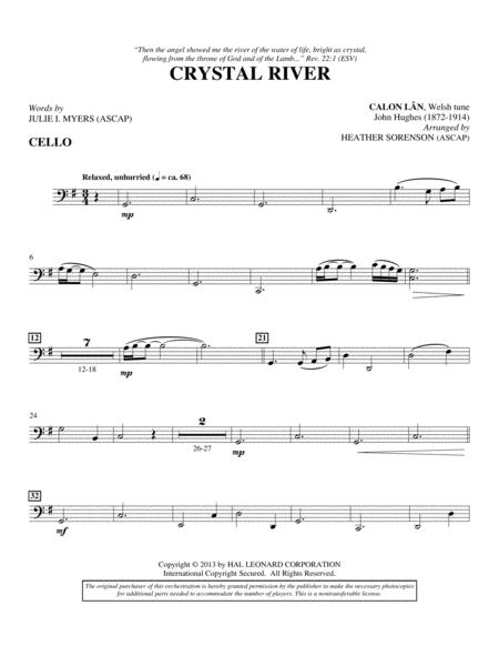 Crystal River - Cello