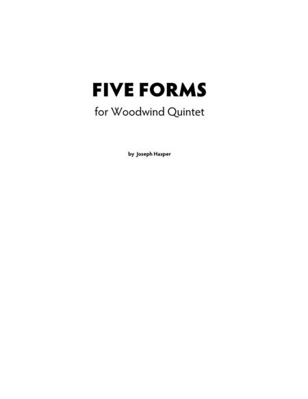 Five Forms for Woodwind Quintet