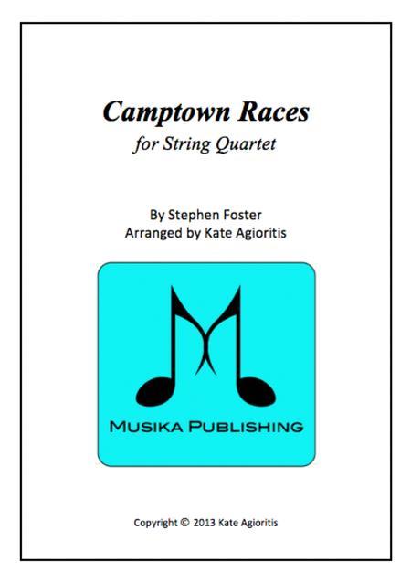 Camptown Races - For String Quartet
