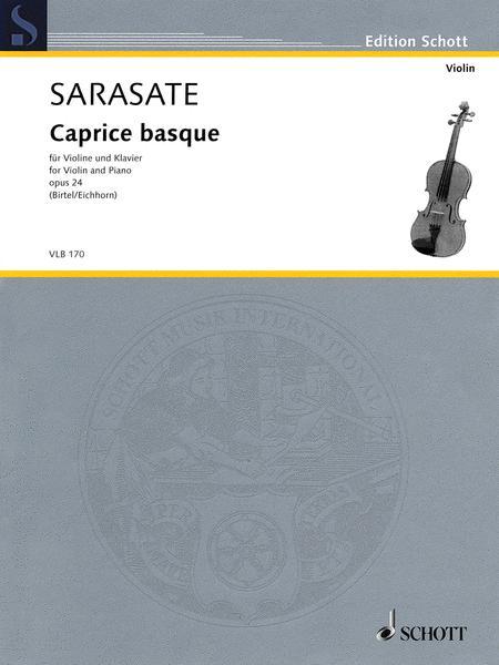 Caprice basque op. 24